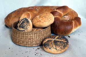 Glutenhaltiges Brot